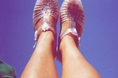 YRU Jealousea, Jelly fisherman sandal, Shop for Indie Shoes Jelly Shoes, Jelly Sandals, On Shoes, Ballet Shoes, Dance Shoes, Juju Jellies, Teaching Outfits, Teaching Clothes, Knee High Boots