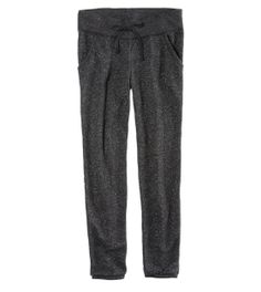 Aerie Classic Banded Bottom Sparkle Sweatpant