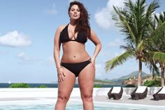 Plus Sized Model Ashley Graham Featured In Sports Illustrated Swimsuit Issue