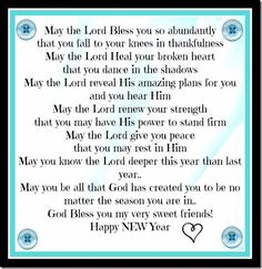 new years blessing 2013