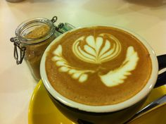 Coffee art with saitorian