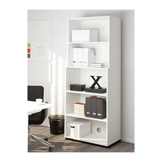 GALANT Open storage combination - white - IKEA