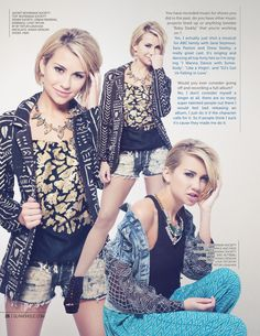 Chelsea Kane in Bohemian Society for Glamoholic Magazine http://www.glamoholic.com/12/contents.html