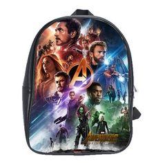 Marvel Black Panther Logo Sac à dos Laptop Sac D/'école-Avengers Comics sac à dos
