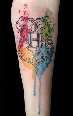 Se você é fã de Harry Potter você precisa ver essas 20 tatuagens inspiradoras