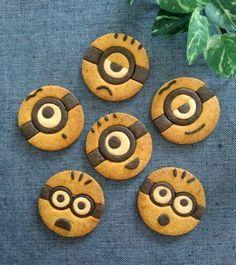 ミニオンのキャラクッキー(._.)φ | *森崎りよのママレシピ*