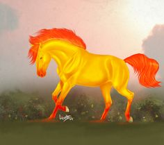 fire horse by YOB.deviantart.com on @deviantART