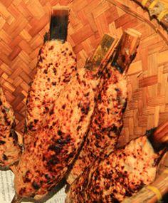 Ini dia kuliner khas Banten http://www.perutgendut.com/read/sate-bandeng-asli-serang-banten/982 #Nusantara #Indonesia #Food