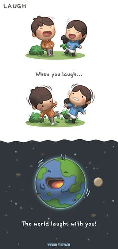When you laugh, the world will laugh and be a happier place! https://www.facebook.com/hjstory.fb/