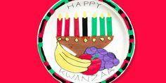 Kwanzaa Platter #ceramics #diy