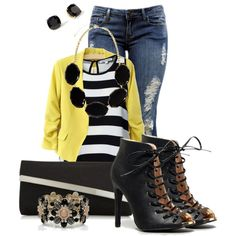A fashion look from October 2014 featuring Glamorous tops, Forever 21 jeans and Qupid ankle booties. Browse and shop related looks.