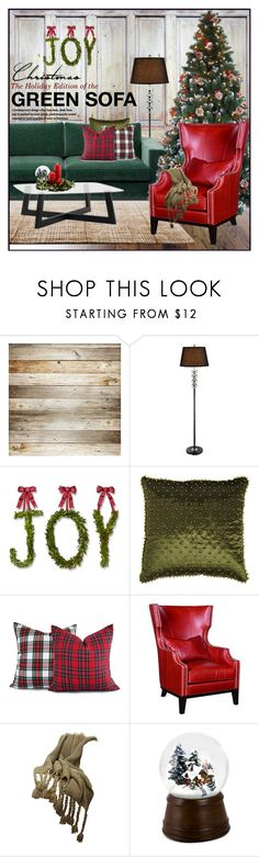 """Green Sofa Holiday Edition"" by szaboesz ❤ liked on Polyvore featuring interior, interiors, interior design, home, home decor, interior decorating, BoConcept, Stellar Works, Williams-Sonoma and Pier 1 Imports"