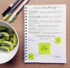 studeity:   studeity:18-03-2016 // 11:00pmStarted working on my Business Marketing notes today. Another first that I've had today was questioning myself about whether Kiwi Fruit was aesthetic enough for my Tumblr. I've been reflecting upon my values ever since then. Also, I must add, I didn't expect this great of a welcome when I joined the Studyblr community last night but I'm so thankful. All of you are so lovely & I'm so glad to be accepted into this wonderful community.