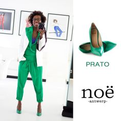 Noë Pumps at Prato Color! Don't miss out at your Noë store!