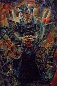Matière, par Umberto Boccioni