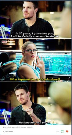 Oliver is Felicity's Second Husband #Olicity