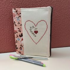 Book cover - cross stitch