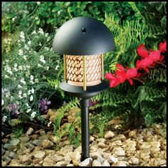 Walkway lights include spotlights, up and down lights, wall fixtures, and decorative Pagoda Lights. #commerciallights #Landscapelight #landscapelights #steplights