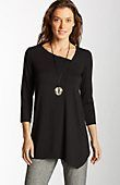 plus size Wearever soft-angles tunic from J.Jill