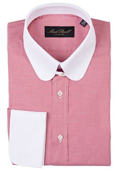 Shirt Collar Styles, Collar Shirts, Collars, Mark Powell, Bespoke Shirts, French Cuff Shirts, Camisa Polo, Well Dressed Men, Congo