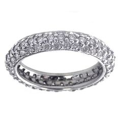 Wedding Bands for Women White Gold