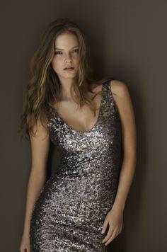 7151ea9de980a boutique flirt - Velvet Farah02 Pewter Sequence Dress