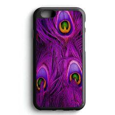 Purple Feather Peacock iPhone 7 Case