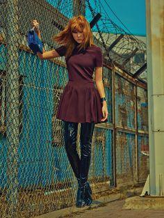 Han Hye Jin by Zoo Yong Gyun for Vogue Korea August 2015 - DIOR Fall 2015