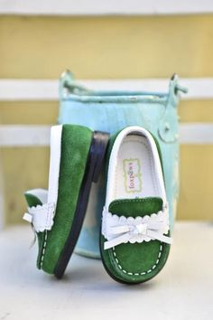 Okay, these are completely adorable. And $44 for baby shoes, but I can dream, right?