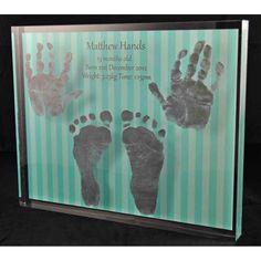Acrylic 2 Hands and 2 Feet