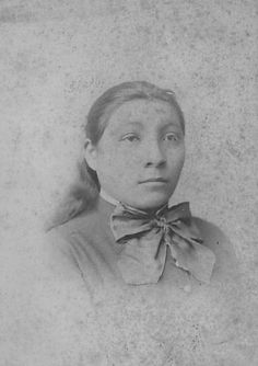 Lois Pretty Scalp (Crow), Carlisle Indian School by DickinsonLibrary, via Flickr