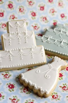 Wedding Favour Biscuits~ Juliet Stallwood Cakes & Biscuits