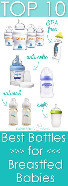 Best Bottles for Breastfed Babies