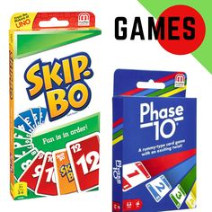 Looking for some Family Fun??  ** Skip-Bo & Phase 10 are the ultimate sequencing card games from the makers of UNO! ** . . . . . . #ezyshoponline #ezyshop #cardgame #cardgames #skipbo #phase10 #UNO #cards #gameplay #toys #Toysontoysaction #toyscometolife #toysbaghandmade #toyspops #toysandhobbies #toysalive #toyslike #toysboys #toysmart #games #toysforsale #toys4sale #toystagram #toysrus #toysphotography #toysale #toyscollection #toystorage #toysforkid Uno Cards, Sequencing Cards, Toys Online, Toys Photography, Toy Sale, Toy Storage, Games To Play, Card Games, Diy Projects