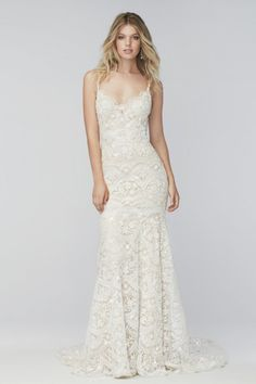 Wtoo Brides Elise Gown Style 16153B | Watters.com