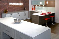 Lava Melamine Kitchen Cabinets, Table
