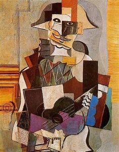 Pablo Picasso: Arlequín, 1918.