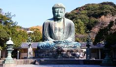 "The ""Big Budda"" in Kamakura.  Visited here a few times while I lived in Japan."