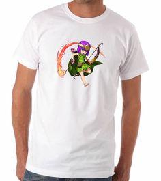 Camisa Clash of Clans - Arqueira Anime
