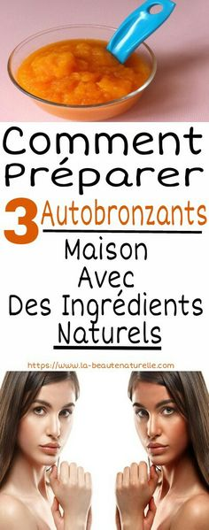 How to Prepare 3 Self-Tanning House With Natural Ingredients Face Care, Health Tips, Self, Personal Care, Pin, How To Make, Natural, Disney, House