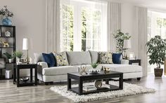 "SM5208 2 pc Canora grey viktor light gray linen like fabric sectional sofa with chaise. This set features a linen like fabric upholstery with set back arms and pillow backs. Sectional measures 125"" x 69"" L x 41"" D x 38"" H . 28"" seat depth, 19"" seat height. Some assembly may be required."