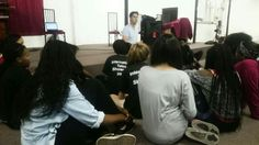 Education is key #thevocalcoach NicoG in class