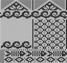 Tricksy Knitter por Megan Goodacre »Gráficos compartidos Designer Knitting Patterns, Fair Isle Knitting Patterns, Knitting Charts, Knitting Stitches, Knitted Mittens Pattern, Knit Mittens, Knitting Socks, Graph Design, Chart Design