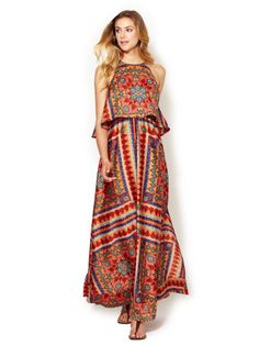Celina Long Dress at Gilt