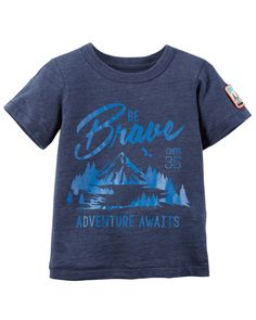 Toddler Boy Brave Graphic Tee | Carters.com