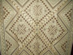 Hardanger tablecloth ~ so pretty!!