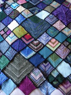 Afghan 2 - joining complete! by The Bees, via Flickr