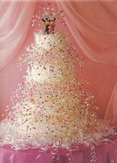 wedding cake -