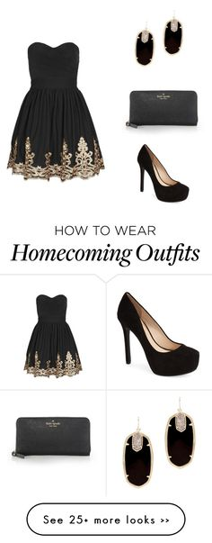 """Homecoming"" by loganbekkah on Polyvore"