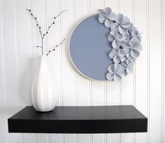 """Home Staging: Embroidery Hoop Art Idea by """"Embroidery Hoop Chic"""""""